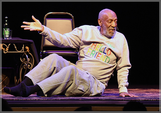 November 21, 2014: Bill Cosby performs what may be his final comedy show ever at The King Center For The Performing Arts in Melbourne, Florida, as women continue to come forward with allegations of rape and sexual assault. Mandatory Credit: INFphoto.com Ref: infusmi-11/13