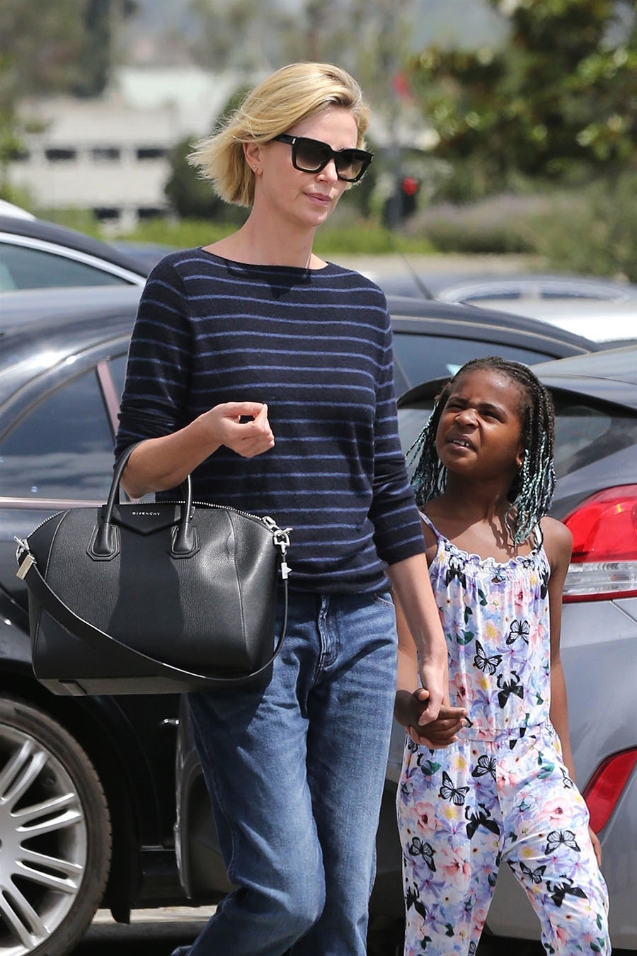 Celebrity Kids Charlize Theron And Son Jackson Conversations Of A