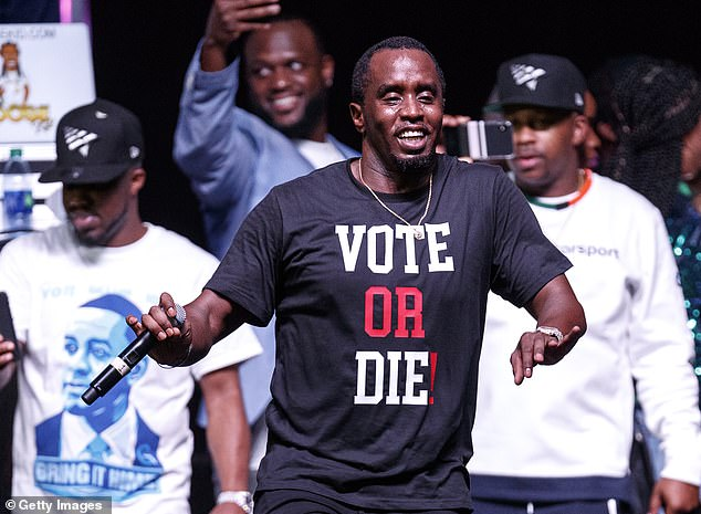 "Sean Combs ""Bring It Home Rally"""