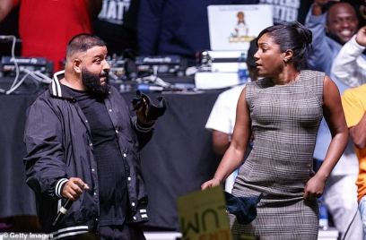 Tiffany & DJ Khaled Bring It Home Rally